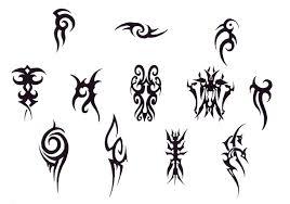 tribal design img18 tribal flash tatto sets