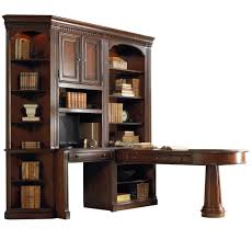 Computer Desk With Bookcase by Office Wall Unit With Peninsula Desk Computer Credenza And Wall