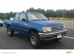 toyota t100 truck tropical blue metallic 1995 toyota t100 truck dx extended cab 4x4