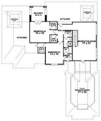Floor Plans With Two Master Bedrooms 654269 4 Bedroom 3 5 Bath Traditional House Plan With Two 2