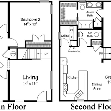 ranch home floor plan open concept ranch home floor plans bedroom captivating to two