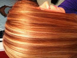 how to put red hair in on the dide with 27 pieceyoutube red hair how to put red highlights in dark brown hair lovely red