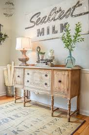 20 awesome farmhouse decoration ideas rustic sideboard room