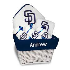 gift baskets san diego san diego padres newborn infant personalized medium gift basket