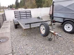 used 2009 midwest industries inc shorelander flatbed trailer