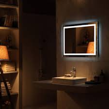Light For Bathroom Led Mirror Illuminated Light Backlit Wall Mount Bathroom Make Up