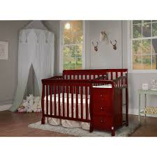 Baby Cribs 4 In 1 With Changing Table Dream On Me Jayden 4 In 1 Mini Convertible Crib And Changer White