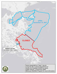 louisiana map areas oyster season louisiana department of wildlife and fisheries