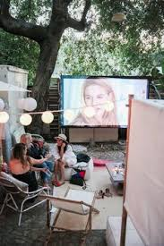 the htg guide to throwing a backyard movie night entertaining