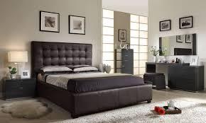 queen bedroom set w storage bed brown