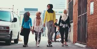 somewhere in america muslim women are