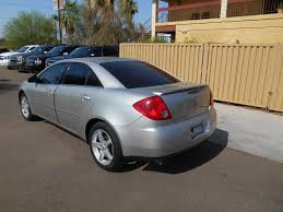 2005 used pontiac g6 4dr sedan gt at phoenix certified cars