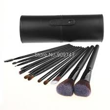 buy 13pcs cheap makeup brush kits wood handle best makeup brushes