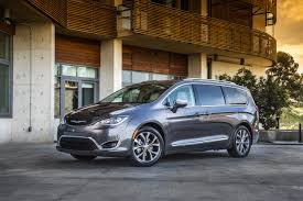 chrysler minivan chrysler pacifica a minivan minus the shame wsj