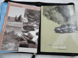 2003 ford explorer owners manual ford amazon com books