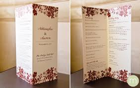 folded wedding program monogramwedding wedding programs do i need one