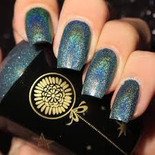 born pretty store blog holographic nail polish design and