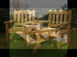 Garden Bench Hardwood Wooden Garden Furniture Hardwood Garden Table And Chairs Youtube