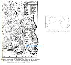 bucks county map five generations of the terry family of bucks county pennsylvania