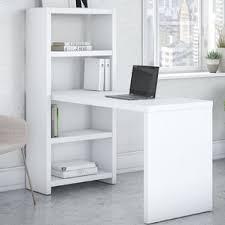 Book Case Desk Desk Bookcase Combo Wayfair