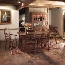 Lane Furniture Dining Room Bedford Dining Set Locally Handcrafted Tables Solid Hardwood