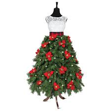 the couturier u0027s christmas tree hammacher schlemmer christmas