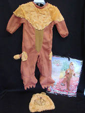 wizard of oz lion costume ebay
