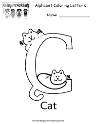 letter c worksheets for preschool worksheets