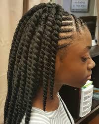 braids in front hair in back 45 lovely little black girls ideas for effortless hairdo