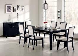 Modern Wood Dining Set Black Contemporary Dining Set Wood Dining