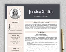 Modern Professional Resume Template Resume Template Professional Resume Template For Word U0026
