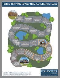 path to new home korndoerfer homes kenosha wi new homes