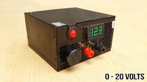 High Voltage Bench Power Supply - how to make adjustable 1 to 20 voltage power supply from old psu
