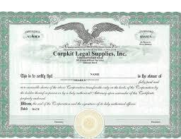 corporate bond certificate template 40 free stock certificate