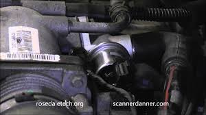 ford idle air control iac valve test how to adjust minimum idle