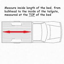 Ford Ranger Bed Dimensions What Size Is My Truck Bed The Tonneau Cover Store