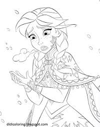 didi coloring frozen