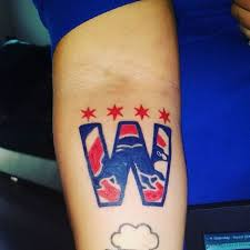chicago cubs world series champs 2016 tattoo go cubs go