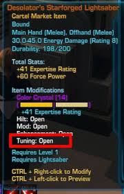 Light Saber Color Meanings Swtor Weapon Tunings Guide Dulfy