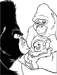 disney babies coloring pages disney baby tarzan ker chak baby hand coloring page wecoloringpage