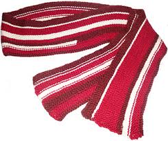 knitting pattern bacon scarf ravelry the bacon scarf pattern by dina james