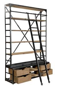 Ladder Style Bookcase by Wall Bookshelves Ideas Shelves Office Idolza