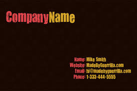 back business card how to design a print ready business card design in photoshop