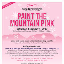 what compliments pink the 4th annual paint the mountain pink day benefits the hope for