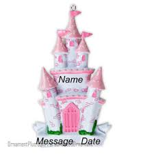 buy princess castle ornament personalized ornament from a large