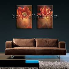 Wall Art Paintings For Living Room Large Framed Abstract Floral Giclee Prints On Canvas Wall Art For