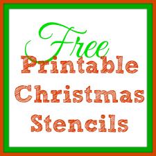 free printable christmas stencils u2013 christmas tree templates