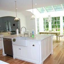 no backsplash in kitchen kitchen island with sink large two level kitchen island with sink