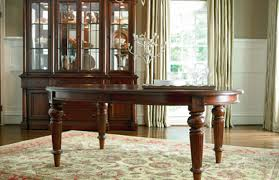 dining room thomasville spellbound double pedestal dining table