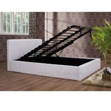 birlea white ottoman storage bed frame on sale